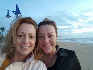 Kim und Wendy, die zwei Schwestern, Ik vertrek ooit,