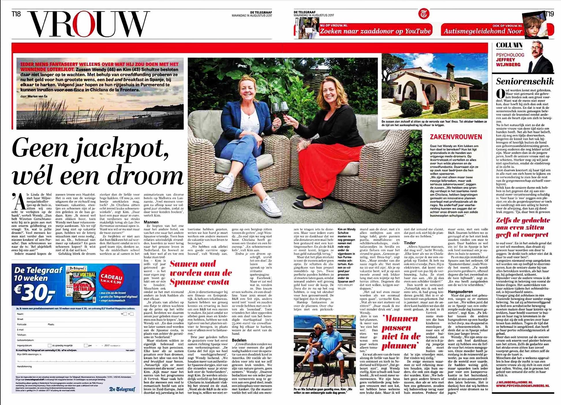 Interview De Telegraaf